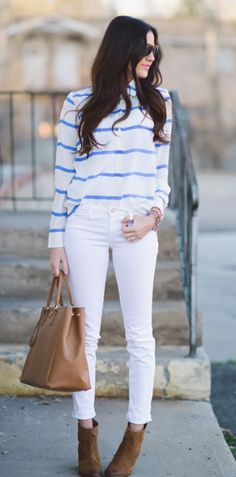 Street Style Stripes | Spring 2013 Trends