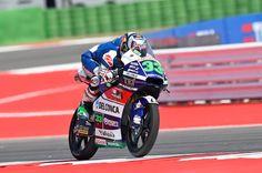Moto3: Enea Bastianini na frente do Warm-Up