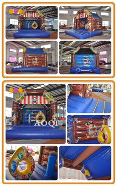 AOQI builds all types of fun and safe inflatable games for kids play and adults sport games, great for commercial rental business and amusement parks. Inflatable Bouncers, Amusement Parks, Games For Kids, Kids Playing, Special Events, Pirates, Commercial, Sport, Business