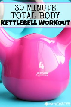 Oh I love kettlebells! This is a great workout in only 30 minutes. I was sore the next day so I know it worked!