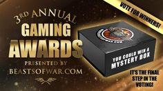 El Descanso del Escriba: Abiertas las votaciones de los III BoW Gaming Awar...