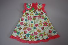 12 to 18 months Dress with by LevonaDanielle on Etsy, $30.00