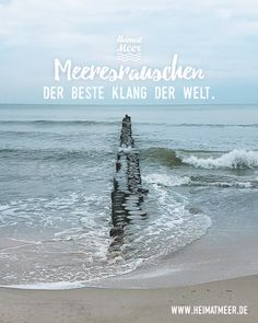 Meeresrauschen - Der beste Klang der Welt. Mee(h)r >>