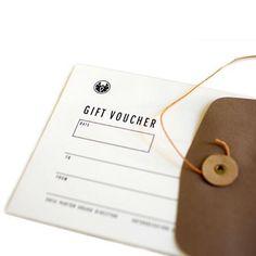 Apolis Global Citizen gift voucher... soo delish!