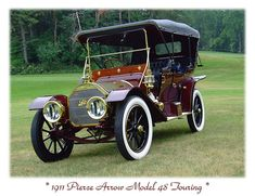 1911 Pierce-Arrow Model 48 | Flickr - Photo Sharing!