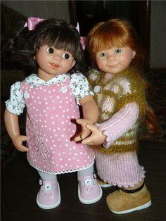 Мы приехали!!! Вихтели Rosemarie Anna Muller / Коллекционные куклы Rosemarie Anna Muller / Бэйбики. Куклы фото. Одежда для кукол