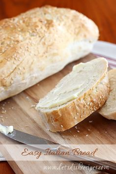 It's always good to have a simple bread recipe on hand, and this is one of my favorites. There are no fancy ingredients, and the hardest part is remembering to start the bread in time to rise and ...