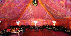 Unique marquee hire UK | Bollywood marquee | Indian wedding marquee | Festival wedding tents
