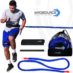 Speed Training: Acceleration Speed Cord to improve speed and acceleration for all sports. Use coupon code PINIT15 for 15% off training equipment.