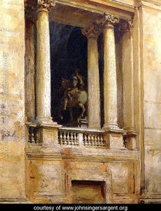 A Window in the Vatican - John Singer Sargent - www.johnsingersargent.org