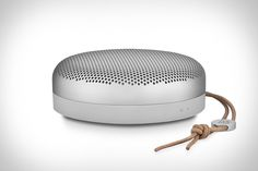 You want to take your music everywhere, but most bluetooth speakers either look like garbage or don't sound any better than streaming directly from your phone. Addressing both of those common problems is the Beoplay A1 Speaker from Bang &...