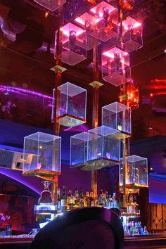 Studio Siru- Custom made details for a bar- nightclub design Photo: Tommi Vuorenmaa Bar Interior Design, Cafe Interior, Luxury Interior, Interior Decorating, Decorating Ideas, Nightclub Bar, Nightclub Design, Design Club, Lounge Design