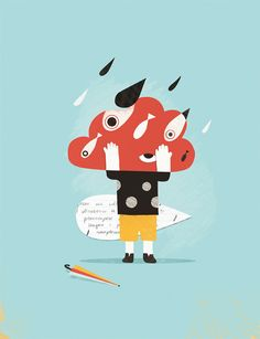 very cute! #graphic #shapes - Roberto Blefari Illustration