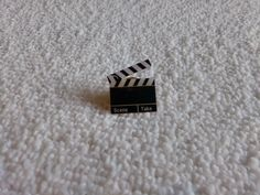 Vintage Movie Film Clipboard pin badge