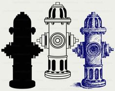 Image result for fire hydrant silhouette