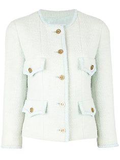 CHANEL VINTAGE - bouclé jacket 6