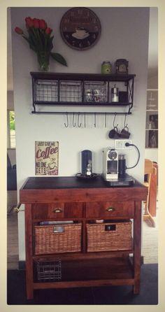 Meine private Kaffee-Bar. ..