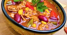 A soup pot full of the flavors of Mexican Taco Goodness that's so simple you can make it on a weeknight for family supper! An excellent bariatric standby.