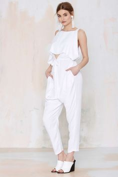 Asilio The Purity Overlay Jumpsuit