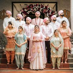 A Beautiful Sikh Wedding In Malaysia With Colour Coordinated Bride And Groom. Check out photos, ideas & stories shared by Bride & Groom. Sikh Bride, Sikh Wedding, Punjabi Wedding, Wedding Poses, Wedding Couples, Boho Wedding, Wedding Ideas, Farm Wedding, Wedding Reception