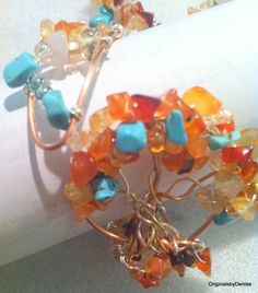 Tree of Life Wire Wrap Bracelets Custom Made by Originalsbydenise