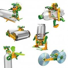 A fantastic solar educational recycler kit. Build 6 different working models powered by the sun from everyday items. Educational Eco-friendly Novel designs Solar powered Great way to use rubbish Kit includes everything needed except your rubbish! Solar Power Kits, Solar Power Energy, Solar Energy System, Save Energy, Lego Friends, Solar Attic Fan, Lego Juniors, Robot Kits, Recycling