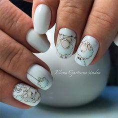 nail designs coffinfrench tip nail designs for short nails nail art stickers online self adhesive nail stickers best nail polish strips 2019 Nail Art Designs, Manicure Nail Designs, Nail Manicure, Nail Swag, Stylish Nails, Trendy Nails, Fancy Nails, Cute Nails, Nailart