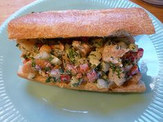 Thai Shrimp Salad Sandwich - Martha Stewart