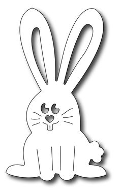 Frantic Stamper Precision Die - Funny Bunny
