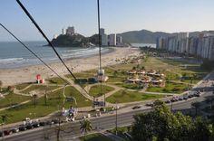 Visão do bondinho de São Vicente - SP Marcelinho & Marlolito's NEW HOME,