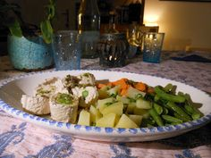 The Dreaming Seed: Stuffed Escalope with Turkey and Asparagus (Low Fat)