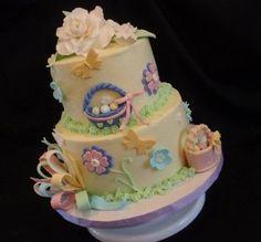 Yellow Easter Cake