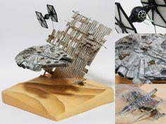 Star Wars Diorama By Modeler Dean Cameron Reynolds