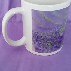 Trying a little video of my new mug of the lavender field! My panorama photos are looking fab on my new mugs, really pleased with them - I'll get them on my new website soon!
