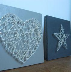 Tableau à clous et ficelle - Meubles et objets - Pure Sweet Home