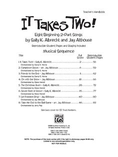 It Takes Two! (Two-PartDirector's Kit | J.W. Pepper Sheet Music