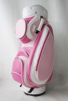 Classic Pink Cart Bag from www.thepinkstore.com