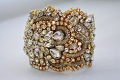 Doloris Petunia One of a Kind Custom Cuff by DolorisPetunia- I'd wear this all the time just because!!!!