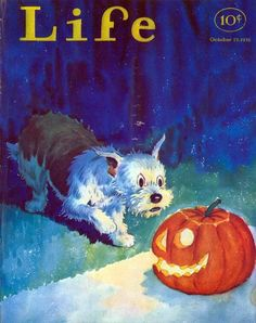 Halloween LIFE cover (October 23, 1931)