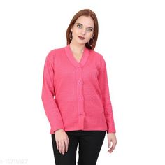 Sweaters BlushhCollection Women Winter Full Sleeve Cardigan (Pack Of 1) Fabric: Wool Sleeve Length: Long Sleeves Multipack: 1 Sizes:  XL (Bust Size: 36 in Length Size: 25 in)  L (Bust Size: 36 in Length Size: 25 in)  M (Bust Size: 36 in Length Size: 25 in) Country of Origin: India Sizes Available: S, M, L, XL *Proof of Safe Delivery! Click to know on Safety Standards of Delivery Partners- https://ltl.sh/y_nZrAV3  Catalog Rating: ★4 (2403)  Catalog Name: Classy Latest Women Sweaters CatalogID_1967872 C79-SC1026 Code: 892-10710927-