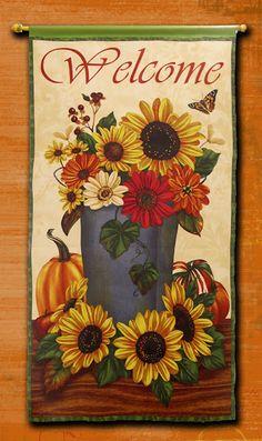 No-Sew Fabric Banner #DIY