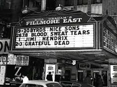 Shows 1971 Fillmore East Grateful Dead Image, Fillmore West, Ken Kesey, Bill Graham, Bush Family, Canada Images, Allman Brothers, Blood Sweat And Tears, Dazed And Confused