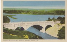 Longwood Bridge and Bird Sanctuary.