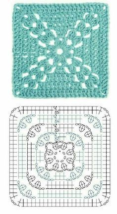 Love scrap use maybe that happens to all old knitters and crocheters lol jh crochet fox crochet gifts love crochet crochet granny crochet squares crochet lace crochet motif crochet stitches crochet patterns – ArtofitCal crochet in boom flower squar Motifs Granny Square, Crochet Motifs, Granny Square Crochet Pattern, Crochet Blocks, Crochet Diagram, Crochet Stitches Patterns, Crochet Chart, Crochet Squares, Love Crochet