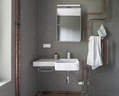 Steal This Look: Industrial Berlin Bathroom | Remodelista | Bloglovin'