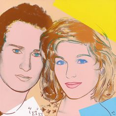 Andy Warhol, Portrait of John McEnroe and Tatum O'Neal, Andy Warhol Portraits, Andy Warhol Pop Art, Pittsburgh, James Rosenquist, Andy Warhol Museum, Jasper Johns, Claes Oldenburg, Roy Lichtenstein, Arte Pop