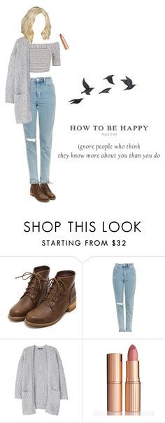 """""""Noora Sætre   Skam"""" by cinderella-in-black ❤ liked on Polyvore featuring Topshop, MANGO, Charlotte Tilbury and Jayson Home"""