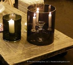 Candle Lighting for Outdoor Romance | The Decorating Diva, LLC