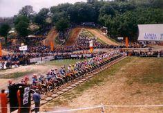 Start of a 125cc GP in 1991