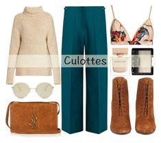 How To Wear Easy fashion winter culottes Outfit Idea 2017 - Fashion Trends Ready To Wear For Plus Size, Curvy Women Over 50 Winter Outfits, Culottes Outfit, Simple Style, My Style, Blazer With Jeans, Fashion 2017, Fashion Trends, Outfit Combinations, All About Fashion